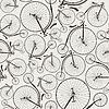 Vintage Fahrrad nahtlose