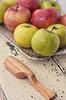 Äpfel, vegetarische Küche | Stock Foto