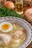 Aromatische Hühnerbrühe | Stock Foto