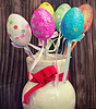 Asortyment zabawek ozdobnych jajek | Stock Foto