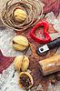 Starożytne receptury wypieku | Stock Foto