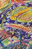 Abstrakte Textur, Farbe, Zeichnung | Stock Illustration