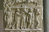 Antike römische Relief des Museums der Vatikan. Rom | Stock Foto
