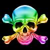 Череп и кости | Векторный клипарт