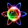 Grüne Atom Elektronen