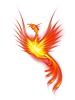 ID 3807932   Brennende Phoenix   Illustration mit hoher Auflösung   CLIPARTO