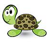 Cartoon Homosexuell Schildkröte