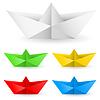 Origami Papier Boot
