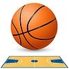 Basketballplatz Grundriss