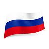 러시아의 상태 플래그 | Stock Vector Graphics