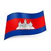 Staatsflagge von Kambodscha