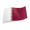 Staatsflagge von Katar