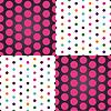 점의 원활한 패턴 | Stock Vector Graphics