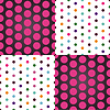 Nahtloses Muster mit bunten Tupfen | Stock Vektrografik