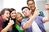ID 3934038 | Studenten tun Aufnahme mit dem Tablet PC in der Schule | Foto mit hoher Auflösung | CLIPARTO