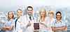 ID 4656889 | Gruppe von jungen Ärzten mit Tablette-PC-Computer | Foto mit hoher Auflösung | CLIPARTO
