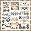 ID 3821206 | Kalligraphische Design-Elemente und Dekoration Seite | Stock Vektorgrafik | CLIPARTO