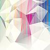 Wielobarwny streszczenie tle trójkątów   Stock Vector Graphics