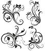 ID 3742103 | Vektor vintage floral Ornament | Stock Vektorgrafik | CLIPARTO