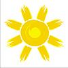 Солнце | Векторный клипарт