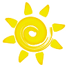 Abstract sun | Stock Vector Graphics