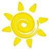 Abstrakte Sonne | Stock Vektrografik