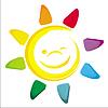 Akwarela słońce | Stock Vector Graphics