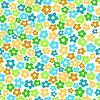 Бесшовные шаблон с мелкими цветками - иллюстрация в векторном формате.