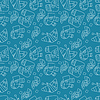 Jednolite abstrakcyjny wzór na niebieskim tle | Stock Vector Graphics