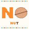 Alfabet dla dzieci, litery N i nakrętki pojedyncze | Stock Vector Graphics