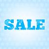 Sprzedaż zimowych tle z | Stock Vector Graphics