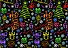 Weihnachten nahtlosen Hintergrund