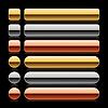 ID 3731836 | Glossy farbigen leere Web 2.0 lange Tasten | Stock Vektorgrafik | CLIPARTO