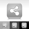 ID 3744728 | Grau glänzende Knopf mit weißen Zeichen Aktie | Stock Vektorgrafik | CLIPARTO