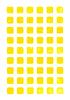 ID 3745659 | Gelbe Aquarell leere gerundet quadratischen Web-Schaltflächen | Illustration mit hoher Auflösung | CLIPARTO