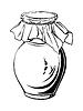 Antik Krug | Stock Vektrografik