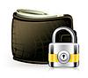 Lock and wallet, Symbol