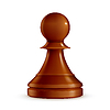 ID 3772059 | Chess Pawn | Stock Vektorgrafik | CLIPARTO
