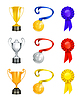 ID 3772773 | Trophy, набор иконок | Векторный клипарт | CLIPARTO