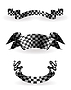 Checkered Bänder Set, 10eps