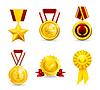 Goldmedaille, setzen 10eps
