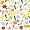 Kleine Objekte, nahtlose Muster 10eps