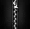 Zipper, schwarzer Hintergrund