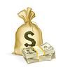 Sack und Geld