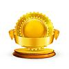 ID 3777551 | Gold award | Klipart wektorowy | KLIPARTO
