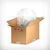 Glühbirne in der Box