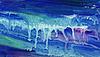 ID 3788964 | 七彩水的颜色倾泻在纸上 | 高分辨率插图 | CLIPARTO