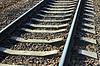 Eisenbahnschienen | Stock Foto