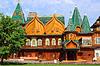 Alter Russischer hölzerner Palast in Kolomenskoje | Stock Foto
