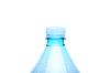 Geschlossen Hals Plastikflasche | Stock Foto